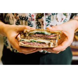 Club sandwich jambon comté