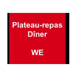 Plateau-Repas - Dîner WE