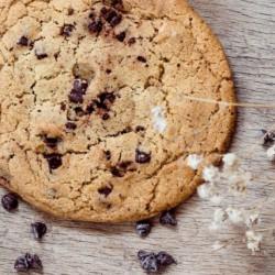 Cookie chocolat noir et fleur de sel Columbus