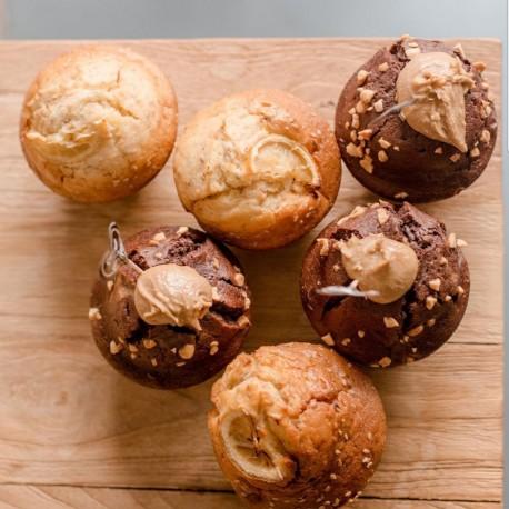 Boite 5 muffins + 1 gratuit
